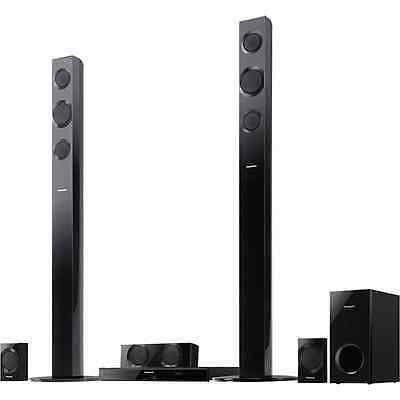 Panasonic SC-BTT195 Full HD 3D Blu-Ray Home Theater System w/ Tall Boy Speakers