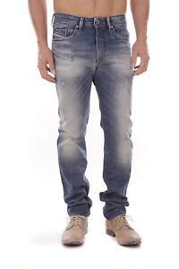 Diesel-Buster-0857M-Herren-Jeans-Hose-Slim-Tapered
