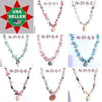 Shell Necklace Wholesale Lot Liquidation Sale More Than 100 Necklaces
