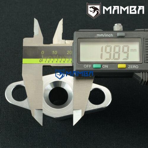 GT55 50.8mm Turbo oil drain return adapter flange 10AN Garrett T3 T4 T04 GT40