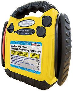 Jump Start 12v 900 Amp Portable Power Pack Station Battery