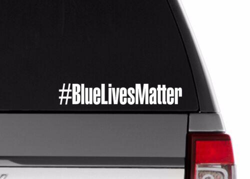 """Blue Lives Matter 9.5"""" Car Truck decal sticker Support Law Enforcement"""
