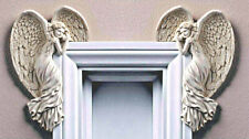 Door Frame Angel Wings Wall Art Sculpture Ornament Home Decor Secret Fairy Door