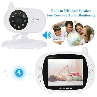 """2.4GHz 3.5/"""" HD Video Baby Monitor Inalámbrico Visión Nocturna De Cámaras De Seguridad PNP"""