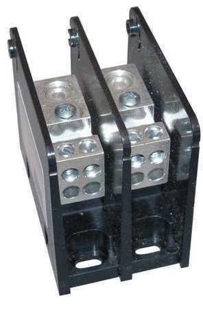 MERSEN MPDB63132 Pwr Dist Block,175A,2P,2//0-14 AWG,600VAC