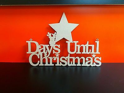Mdf Christmas Eve Box Topper to Personalise Yourself 25cm x 15cm Multilisting