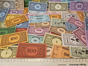 MONOPOLY-MONEY-50-MONEY-NOTES-different-styles-spare-replacements-Craft