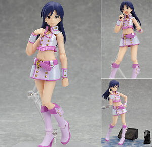 Figma-208-Chihaya-Kisaragi-The-Idolmaster-Anime-Action-Figure-Max-Factory-Japan