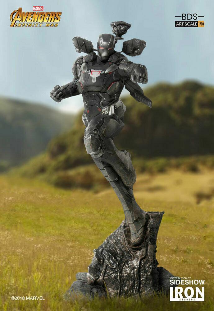 Iron Studios Marvel WAR MACHINE  Infinity War Art Scale 1/10 Statue on eBay thumbnail