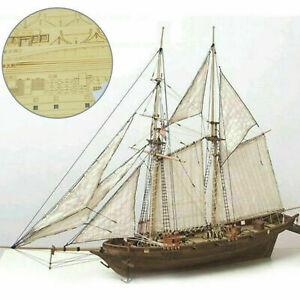1-100-Halcon-Wooden-Sailing-Boat-Model-DIY-Kit-Ship-Assembly-Decoration-Gift
