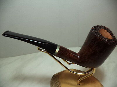 PIPA PIPE PFEIFE TOM SPANU ITALIAN PIPE FREE HAND IN  RADICA  15 NEW