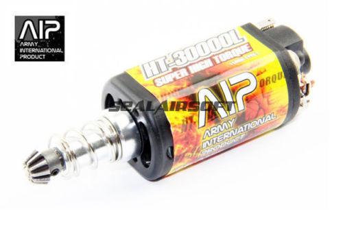 AIP súper alto esfuerzo de torsión AEG Motor HT-30000L para Airsoft Ver2 caja de cambios AIP004-30K