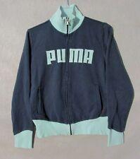 Puma Jacket,Coat Blue & Mint  Full Zip Women's Track Large Inv#Z9019
