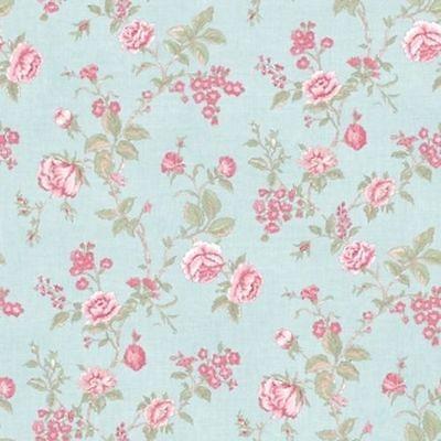 Pink /& White Floral Galerie Wallpaper G67295 Jardin Chic Green