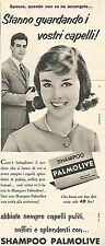 W8679 Shampoo PALMOLIVE  - Pubblicità del 1958 - Vintage advertising