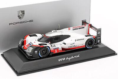 Figures Set Mechanic Porsche 919 Winner 24H Le Mans 2017 SPARK 1:43 43AC011 Mode