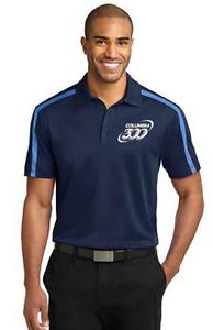 Columbia 300 Men's Ego Performance Polo Bowling Shirt DriFit Carolina bluee