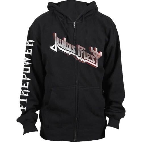 Judas Priest-Firepower Capuche Veste Zipped Hoodie