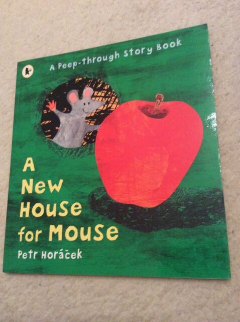 A New House for Mouse by Petr Horacek, paperback, in excellent condition