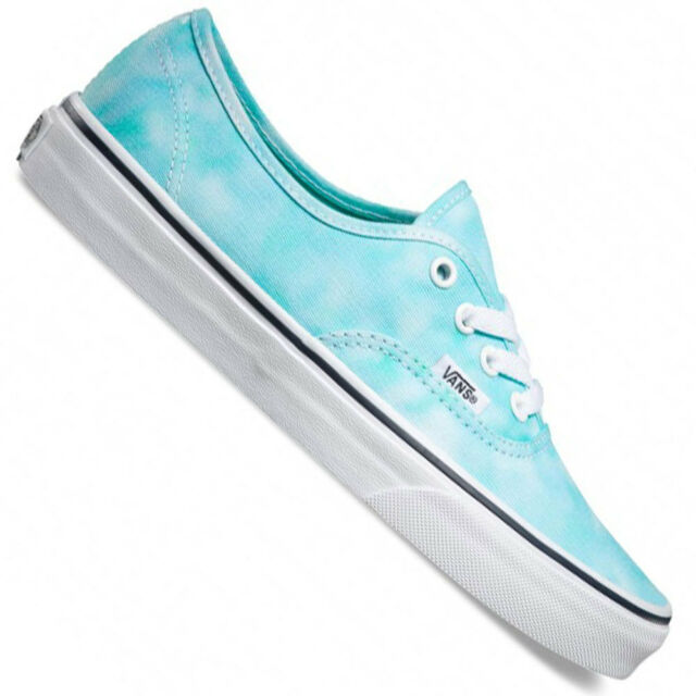 34924a0666ac VANS Authentic Tie Dye Turquoise Ladies UK 5 Skateshoe Trainers for ...
