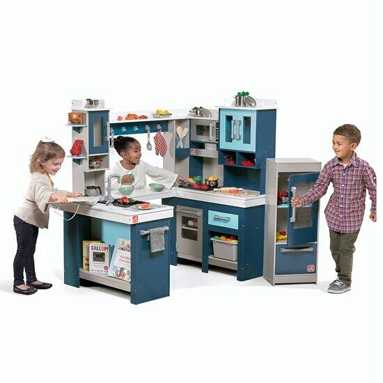 Step2 Grand Walk-in Wooden Play Kitchen Fast