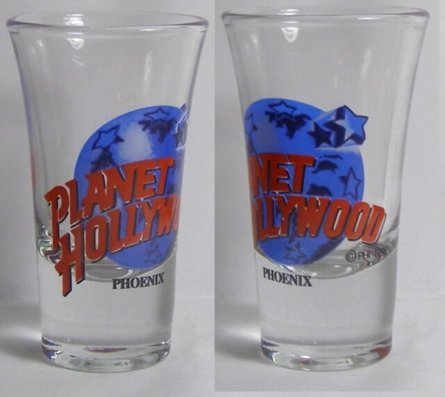Planet Hollywood Phoenix Shot Glass #3673