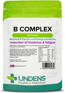 Vitamin-B-Complex-Tablets-100-pack-x9-B-vitamins-high-strength-Lindens-0656