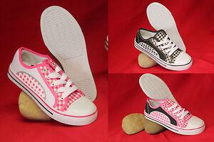 Damen-Schuhe-Sneaker-Schnuerer-Freizeitschuhe-Slipper-Gr-36-37-38-39-40-41