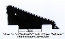 Les Paul LP Studio LEFT BWBWB P-90's Pickguard Gibson Epiphone Project 60 Edge