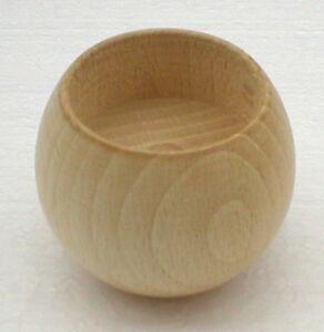 2-x-Teelichthalter-Kugel-Buche-Teelicht-Kerze-Halter