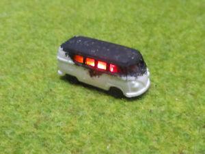 Spur-N-TT-VW-Bus-T1-Vollbrand-Brennend-12V-LED-Feuer-WIKING-1-160-24