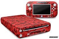 Skin Decal Wrap For Nintendo Wii U Gaming Console & Controller Sticker Digicam