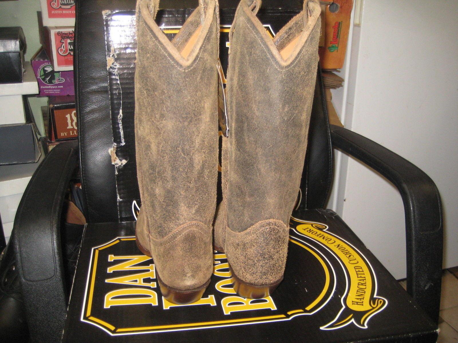 Dan Post para mujer botas occidentales DP3262 roughie (tan) Talla Talla Talla 10 M Nuevo f442c6