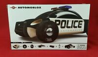 Automoblox S9 Police Cruiser Car Kids Wooden Building Block Toy 985018 NEW Toys