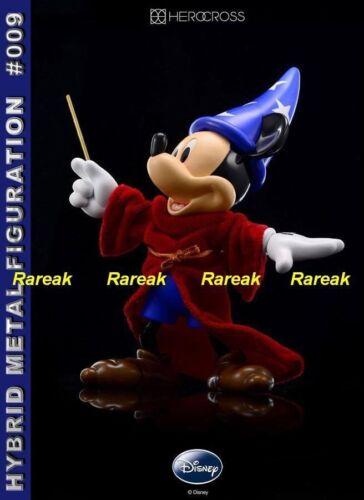 86hero Herocross Hybrid Metal Figuration #009S Mickey Mouse Sorcerer Figure