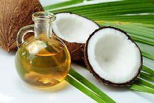 1kg biologici certificati pressato a freddo extra vergine olio di Cocco Barattolo di Vetro 100% Puro