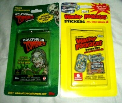 WACKY PACKAGES ANS5 BLISTER 4 PACK IN VERY GOOD CONDITION
