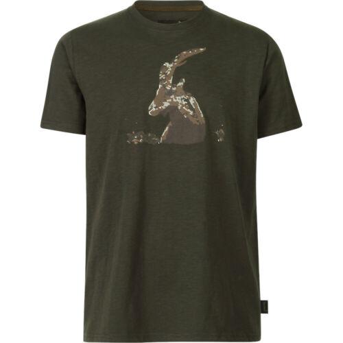 Seeland Flint Ram Tee Shirt in Grizzly Brown
