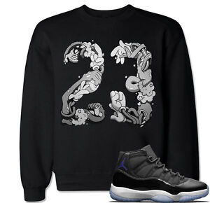 39713d674974 Space Jam 23 Sweater to match with Air Jordan 11 Space Jam XI Retro ...
