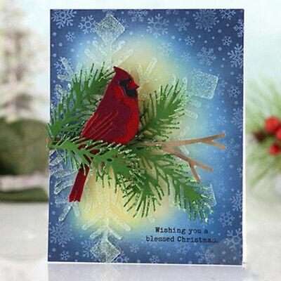 Cutting Dies Bird Shape Stencil Scrapbooking Album Paper Craft Card DIY Decor