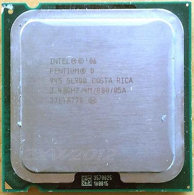 Intel Pentium D PD 945 3.4 GHz 4M 800MHz Dual-Core Processor LGA775 CPU QW