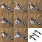 Kpop BTS Key Chain Bangtan Boy Laser Lanyard Jimin V Mobile Phone Strap Key Ring