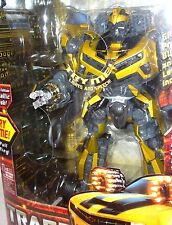 BATTLE OPS BUMBLEBEE Limited Metallic Leader Class Transformers MINT electronic