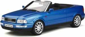 OTTO-MOBILE-825-AUDI-A80-CABRIOLET-resin-model-car-Kingfisher-blue-1-18th-scale