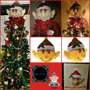 Elf Pixie Head Christmas Tree Topper Life Size Cracker Barrel 2015 New In Box Ebay Think garland, christmas lights, pine cones, ornaments, a tree topper, etc. details about elf pixie head christmas tree topper life size cracker barrel 2015 new in box