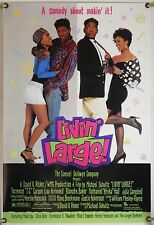 LIVIN' LARGE DS ROLLED ORIG 1SH MOVIE POSTER TERRENCE CARSON COMEDY (1991)
