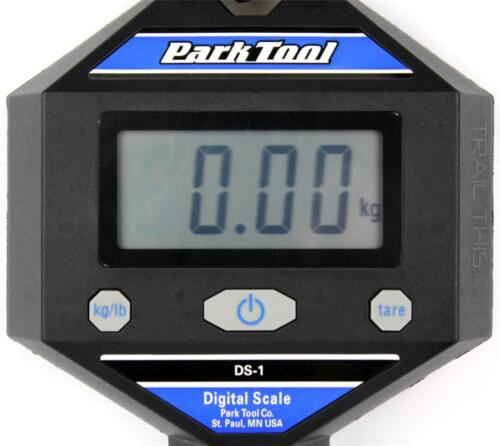 Park Tool DS-1 Digital Bike Weight Scale Clamp on Stand or Hang from Hook kg//lb