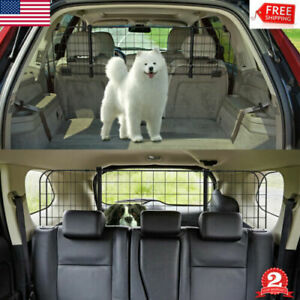 Car Dog Barrier For SUV/ MPV/ Vehicle Car Divider Barrier Seat Safety Pet Cage