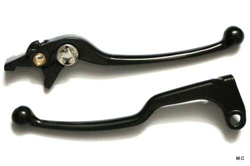 Clutch Levers For Yamaha YZF R6 R 6 Black Round Brake Lever Hand 1999 2000 2001