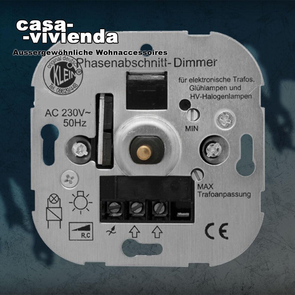 LED-Dimmer, 3-550W, Phasenabschnitt,  RC  - für alle BERKER®-Schalterprogramme